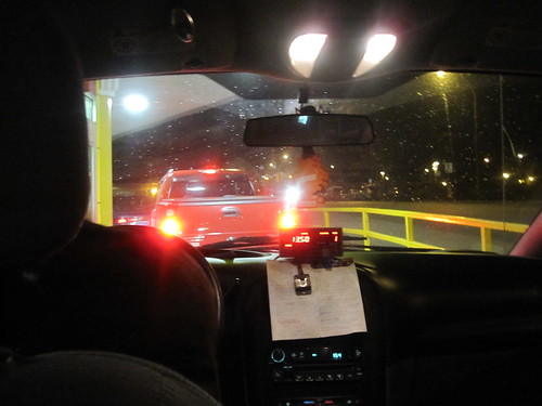 Late night drive-tru at McDo with cab driver!