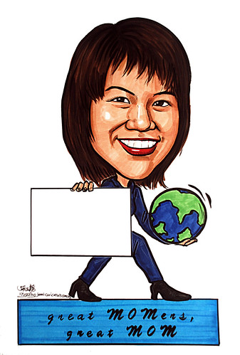Caricature for Ministry of Manpower - 3