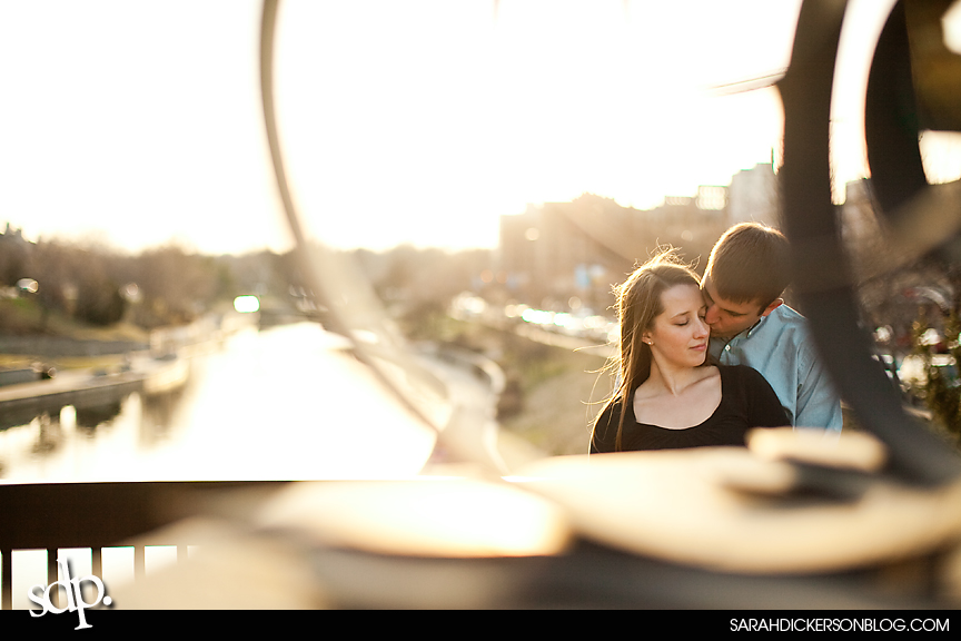 Country Club Plaza, Kansas City Missouri engagement photos