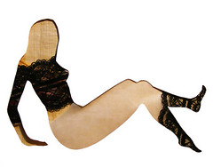 Strike a pose (Monique van Uden) Tags: collage illustration eroticism