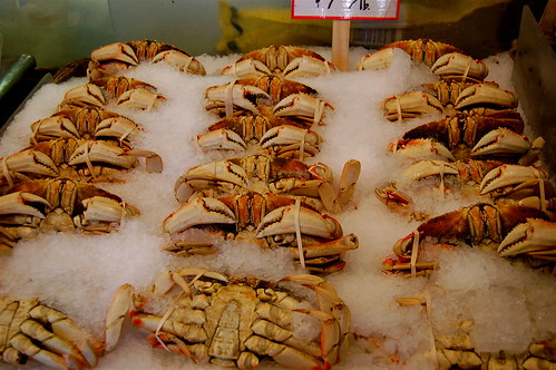 Pike Place Market Crabs