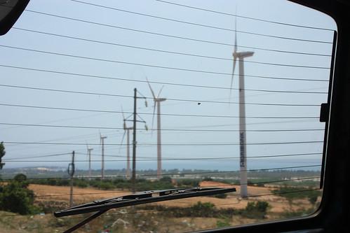Wind power near Nha Trang