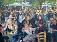 Muse d'Orsay - Pierre Auguste Renoir - Bal du Moulin de la Galette (*Checco*) Tags: paris france art museum painting moulin paint artist impressionism museo francia orsay bal galette renoir parigi musedorsay orsaymuseum baldumoulindelagalette