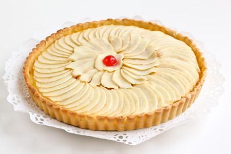 Pastís de poma i crema