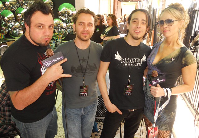 Anew Revolution, Robert, Joey,Frank, Christina Martin, SXSW Music 2010