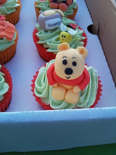 Winnie the Pooh cupcake
