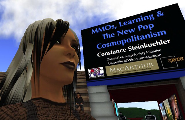 Constance Steinkuehler at the 2010 NMC Symposium on New Media & Learning