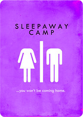 sleepaway camp (madfishes) Tags: movie poster 80s horror redesign sleepawaycamp