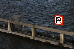 No Parking, No Boats (smaedli) Tags: water netherlands amsterdam sign spring day nautical symbols panasoniclumixgh1 voigtlander40mmf14noktonlm