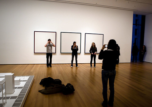 MOMA: Empty canvases