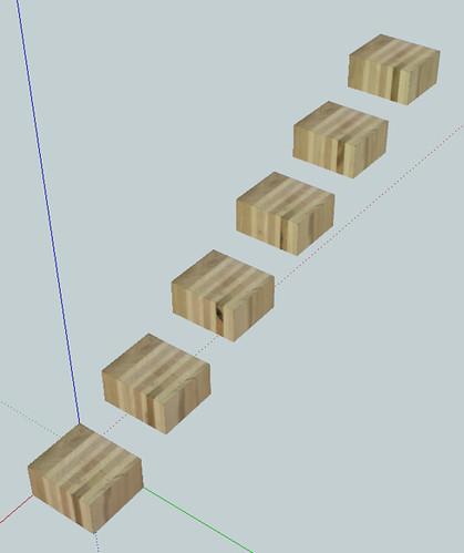 cut up virtual wood glue-up