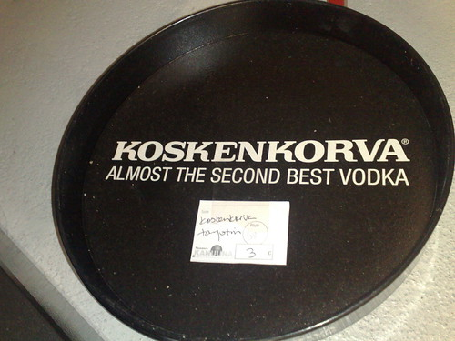 Almost the second best vodka by hugovk.
