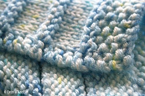 Free Knitting Patterns Baby Blanket Dk : Free Knitting Pattern: Stripy Cozy Baby Blanket - EvinOK