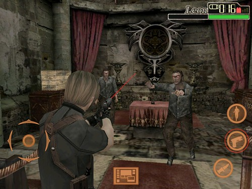 Resident Evil 4 iPad screenshot 2