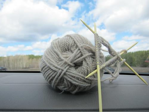 #93 - Car Knitting