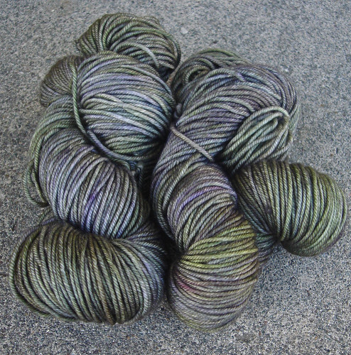 madelinetosh vintage :: lichen