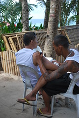 Getting inked (goodnessgraci0us) Tags: tattoo ink philippines filipinas pilipinas tattooartist boracaytattoo