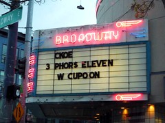 I forgot my CUPOON! (sea turtle) Tags: seattle pink sign neon letters broadway coke vandalism prank drugstore riteaid capitolhill coupon ckoe cupoon