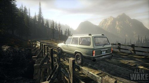 Alan Wake carro auto