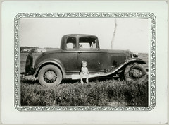 automobile child transportation foundphotograph runningboard ajo65