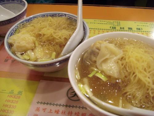 Wonton noodles@Mak An CWB