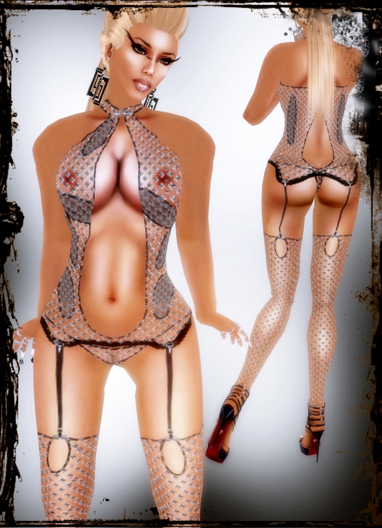 A&A Fashion Lingerie Set black