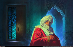 Moorish Nobleman (cool-art) Tags: africa architecture muslim islam north mosque medieval moorish empire warrior muslims middle ages islamic turbans adventurer nobleman saracen