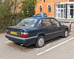 1993 Rover 420GSi (R8) (elstro_88) Tags: park honda rover concerto 1993 400 200 april buckingham 1980s saloon 1990s springtime 2010 bourton r8 chandos 16v kseries aylesburyvale 420gsi buckinghamwalk
