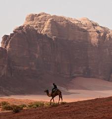Exotic (flavisk) Tags: red holiday canon eos sand desert wadirum jordan vacanza deserto beduin beduino dromedario giordania 400d