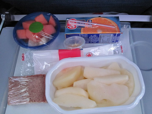 Vegan Airplane Meal - Breakfast