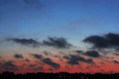 Venus, Mercury & the Moon (markkilner) Tags: canon eos 40d dslr kent england kilner 50mm conjunction planets venus mercury moon sunset dusk twilight horizon astronomy tripleconjunction mirrorlockup northforeland broadstairs skyatnight skytelescope cloudynights volcanicsunset sky eyjafjallajoekull ash plume ashthursday geo:lat=5137486 geo:lon=1444517 geotagged astro:subject=venus astro:subject=mercury astro:subject=moon crescent earthshine astro:gmt=20100415t1931 competition:astrophoto=2010 southeast earthandspace thanet