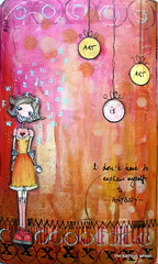 Art Journal - Art is Art (thekathrynwheel) Tags: art moleskine collage artjournal stampotique journaloing