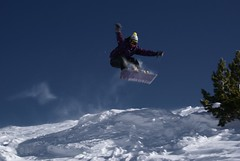 Exploring new horizons (Evgeny Rezunenko) Tags: winter sun snow ski ice fun austria jump freestyle wind air extreme tricks snowboard blizzard bigair offtrack serfausfissladispowder