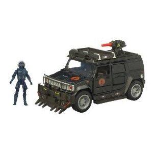 Movie Bravo Vehicle Steel Crusher (H2) with Nitro Viper