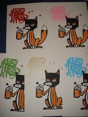 Mau Mau - Mask Foxes (. .gilsteph . .) Tags: tag foxes mau