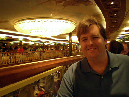 Carnival Spirit - Mike in Empire Room