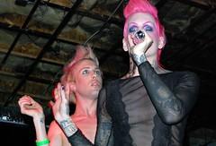 Jeffree Star (Nick Leonard) Tags: vegas music lasvegas live nevada nick tattoos singer blondehair pinkhair concertphotography thefarm muscian bandphotography musicvenue jeffreestar nickleonard daniellucas nickleonard