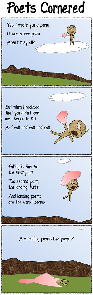 #118 - Falling from a love poem