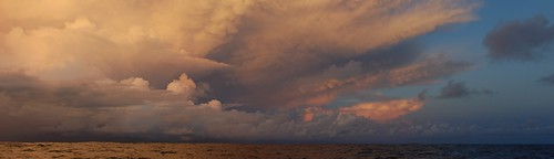 amazing clouds near the equator