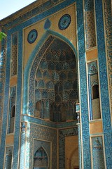 Facade (DSLEWIS) Tags: shrine iran muslim islam mosque natanz abdalsamad