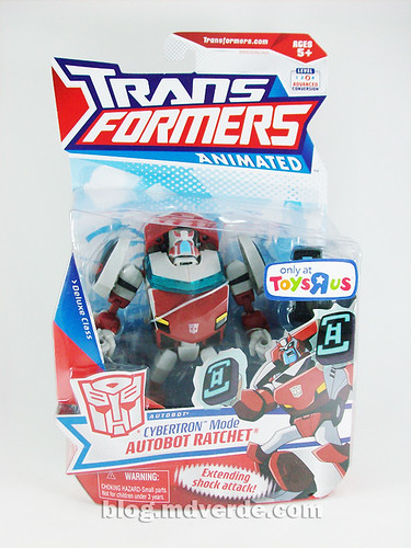 Transformers Ratchet Animated Deluxe (Cybertronian) - caja