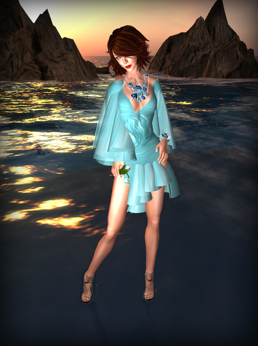 Morea Style May Gift Dress and Lillies