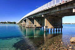 Wallis Lake Bridge - From Tuncurry Side (Black Diamond Images) Tags: bridge australia estuary greatlakes nsw forster tuncurry bdi midnorthcoast forstertuncurrybridge blackdiamondimages wallislakebridge