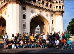 Team HWS Photowalk 2May10 (cishore) Tags: india heritage wow team gang photographers photowalk hyderabad monuments cishore kishore heritagewalk charminar hws meccamasjid nagarigari chowmahallapalace hyderabadweekendshoots kishorencom teamhws 2may10 gallisofoldcity