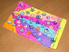 WTJ Page 40: Make a paper airplane. (Lady Selena) Tags: colors paper airplane stamps papier paperairplane kleuren wtj stempels wreckthisjournal viegtuig papierenvliegtuig