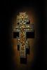 slavic cross (auw) Tags: light black museum icons cross icon 2010 maj auw krzyż ikona podlasie d40 suprasl supraśl muzeumikon slaviccross krzyżsłowiański