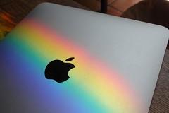 Rainbow iPad