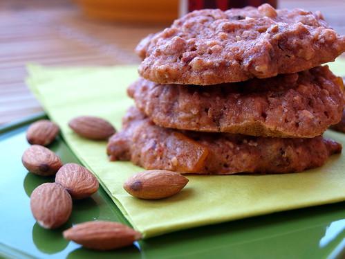 Rote Beete-Cookies mit extra Mandel