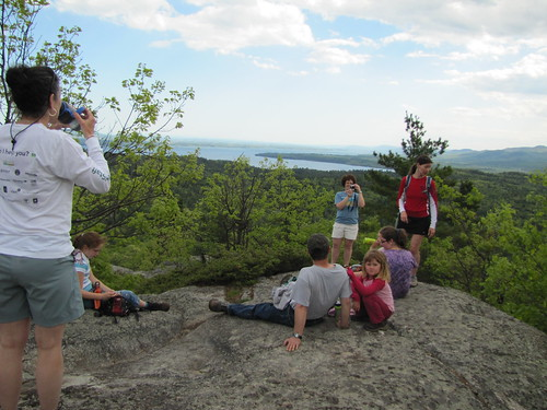 top of Coon Mountain