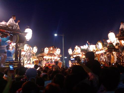 2007年うちわ祭2日目叩き合い